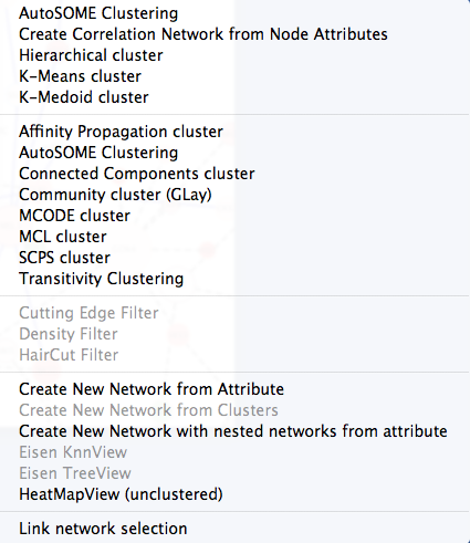 clusterMaker: Creating and Visualizing Cytoscape Clusters