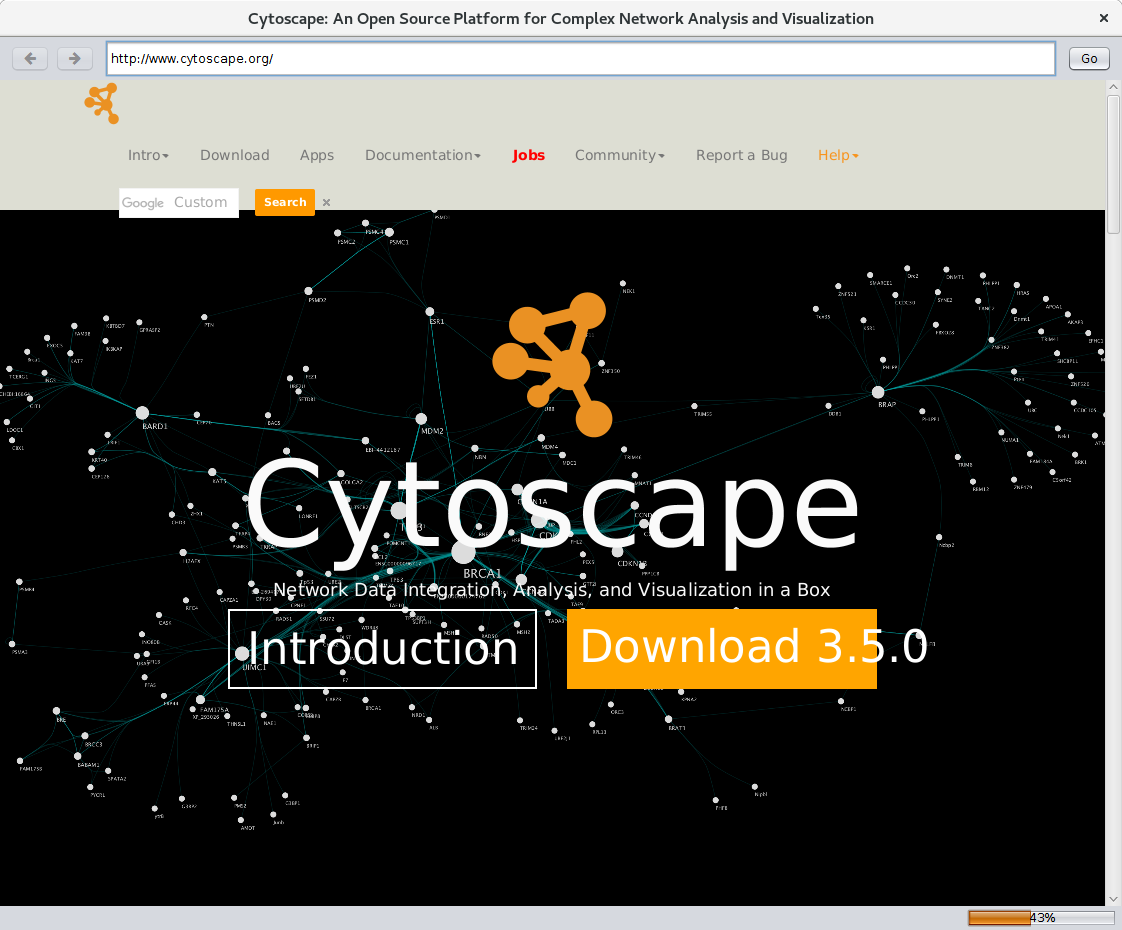 CyBrowser: HTML browser app for Cytoscape