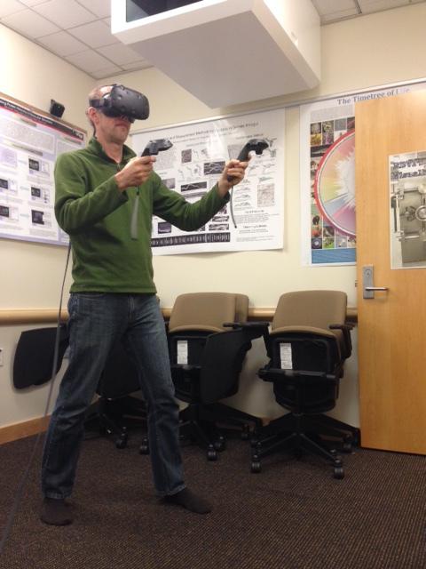 ChimeraX Virtual Reality