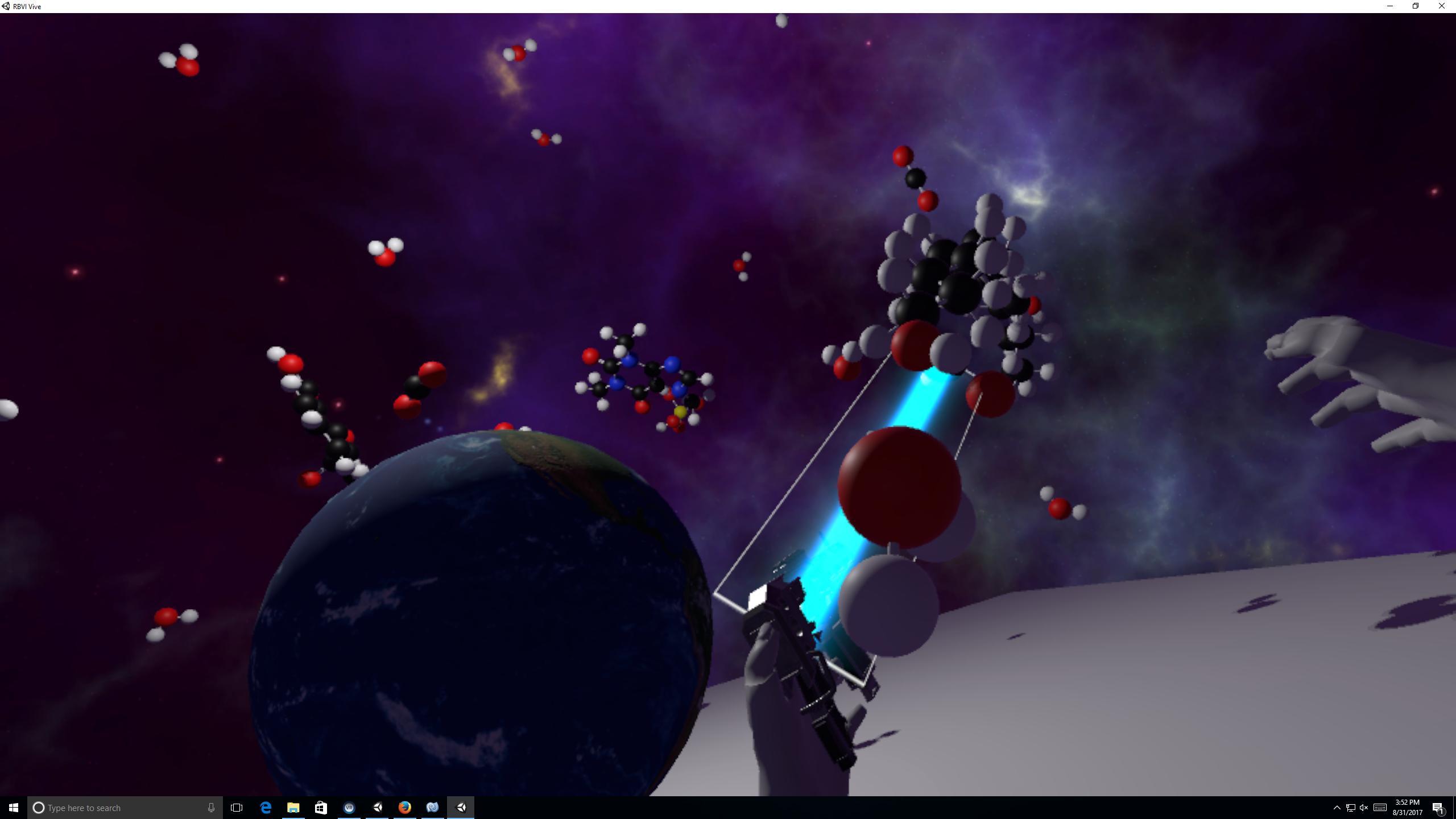 VR examples using ChimeraX