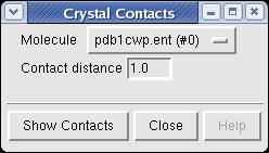 Crystal Contacts